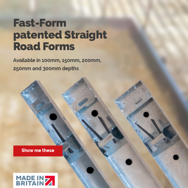 Fast-Form Patented Straight Road Forms