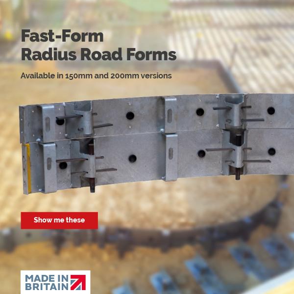 Fast-Form Radius Road Forms